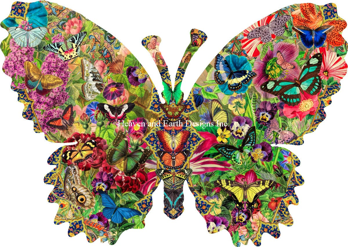 Butterfly Menagerie Material Pack