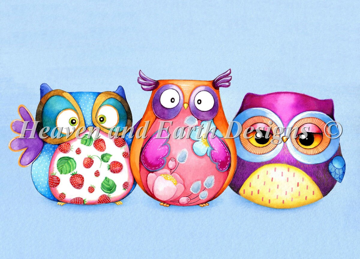 Owl Best Friends Max Color