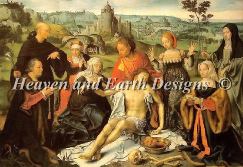 Altar Piece of the Lamentation - Click Image to Close