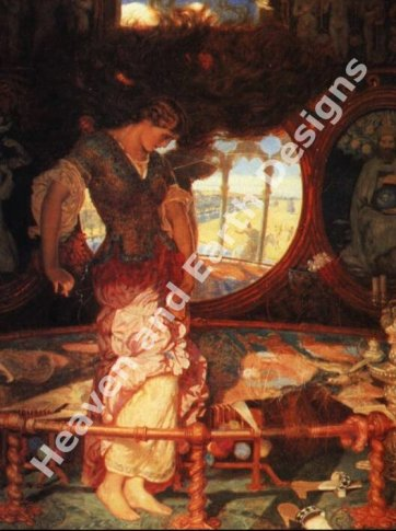 Holman Hunt - Lady of Shalott