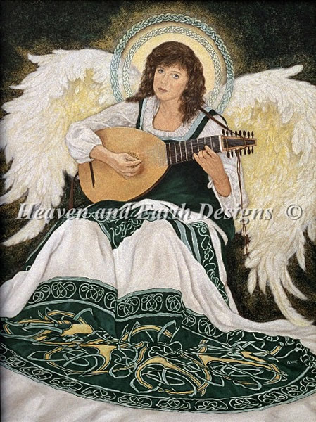 Celtic Angel - Click Image to Close