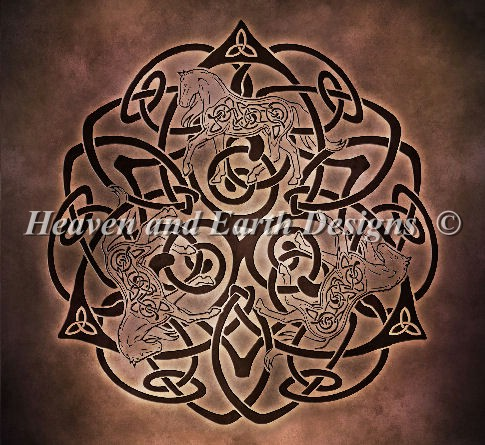 Celtic Knot Horse NO Background