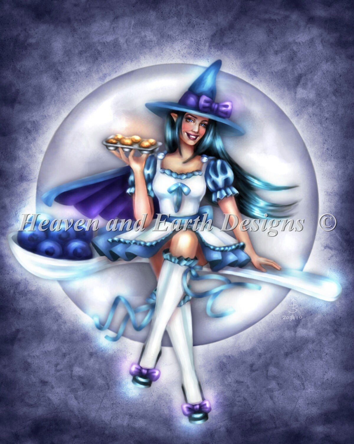 Muffin Magick Witch NO Background