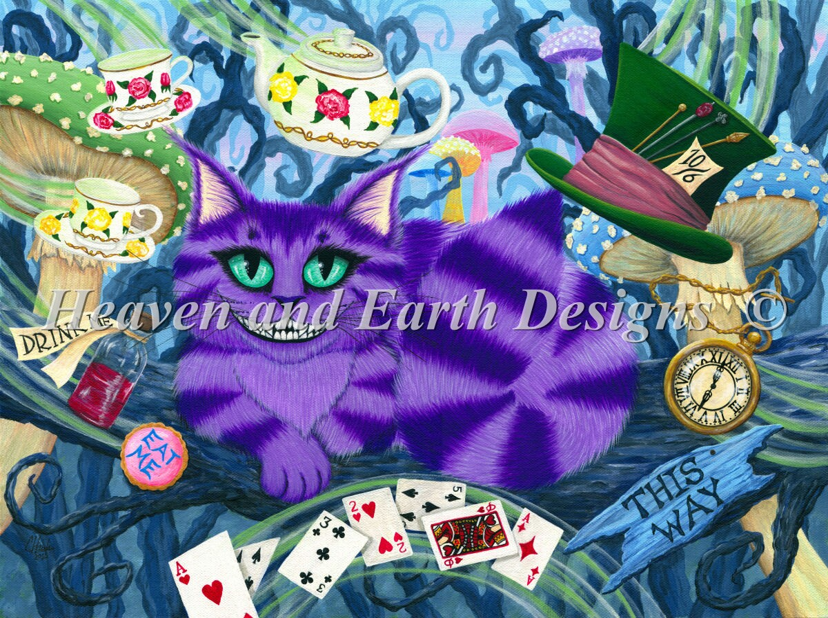 Cheshire Cat Material Pack