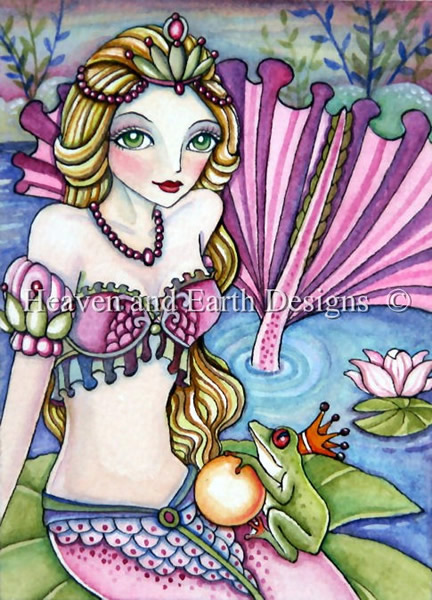 QS Mermaid and The Frog Prince