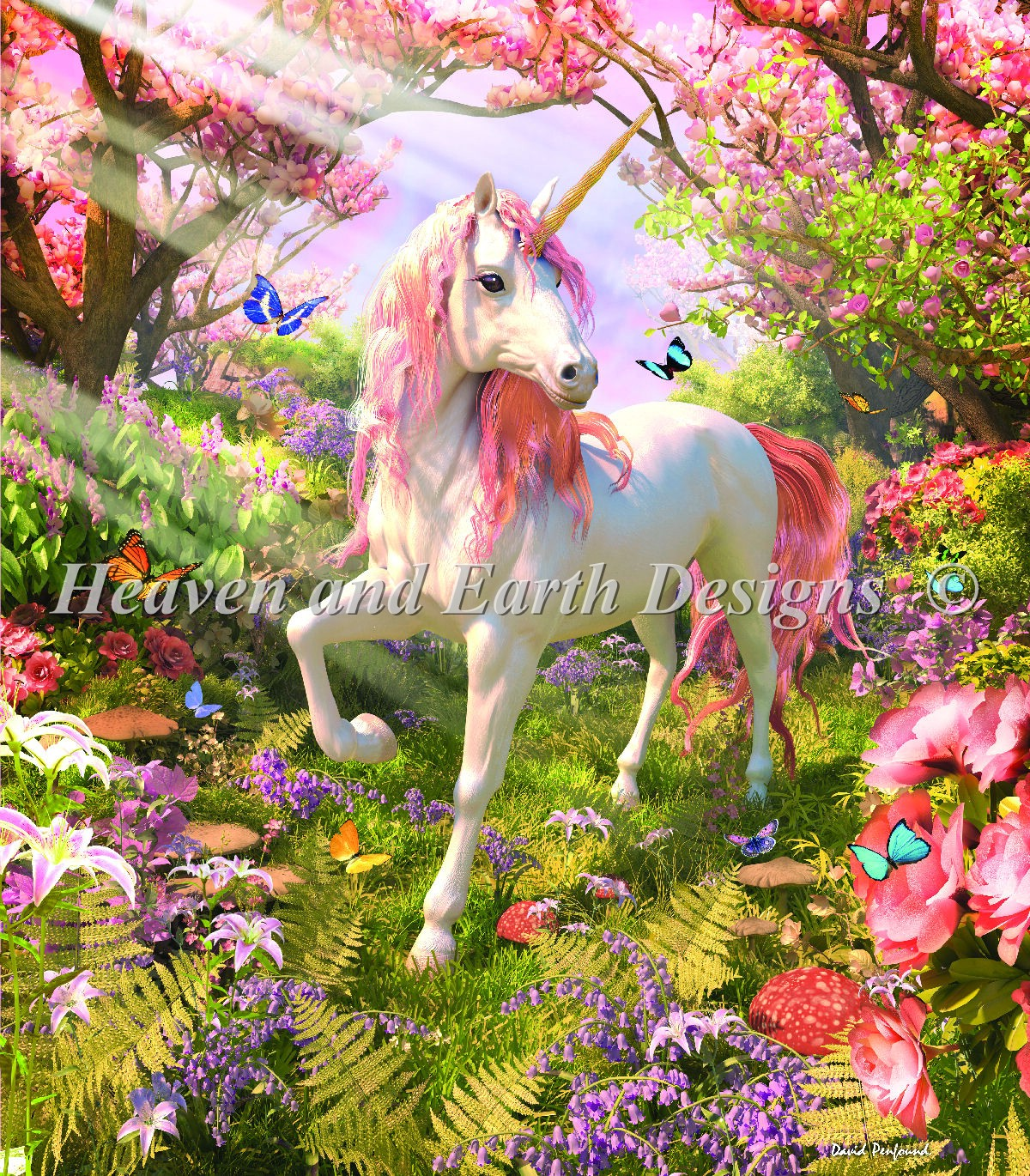 Unicorn Spring Material Pack