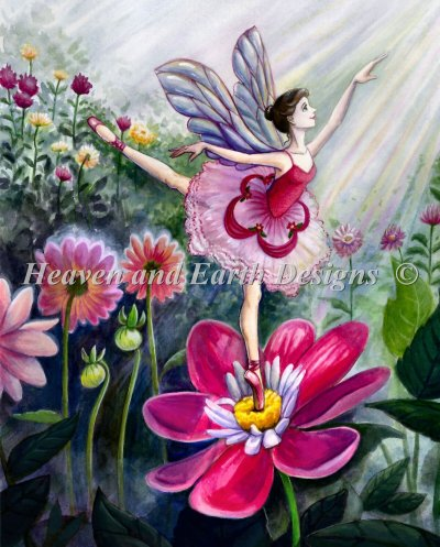 Diamond Painting Canvas - Mini Ballerina Fairy