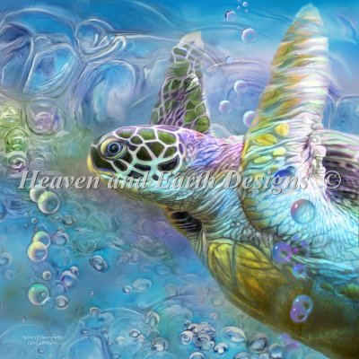 Diamond Painting Canvas - Mini Sea Turtle Spirit Of Serendipity