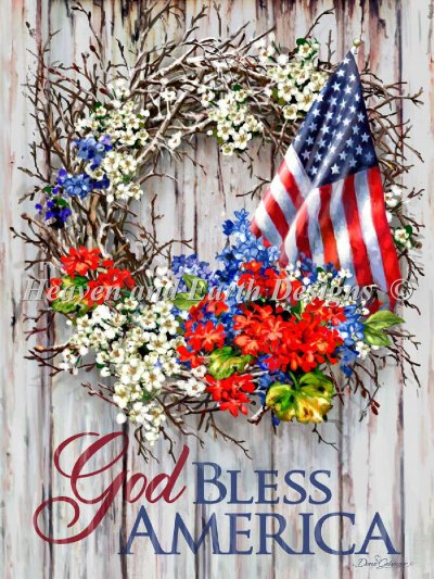 Patriotic Wreath Material Pack