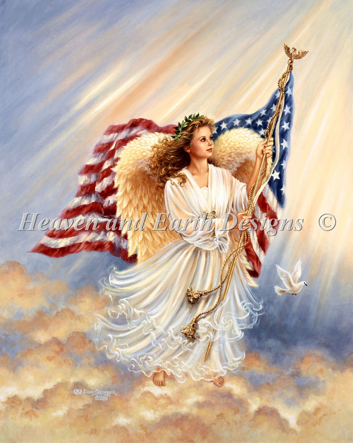 American Angel NO Background