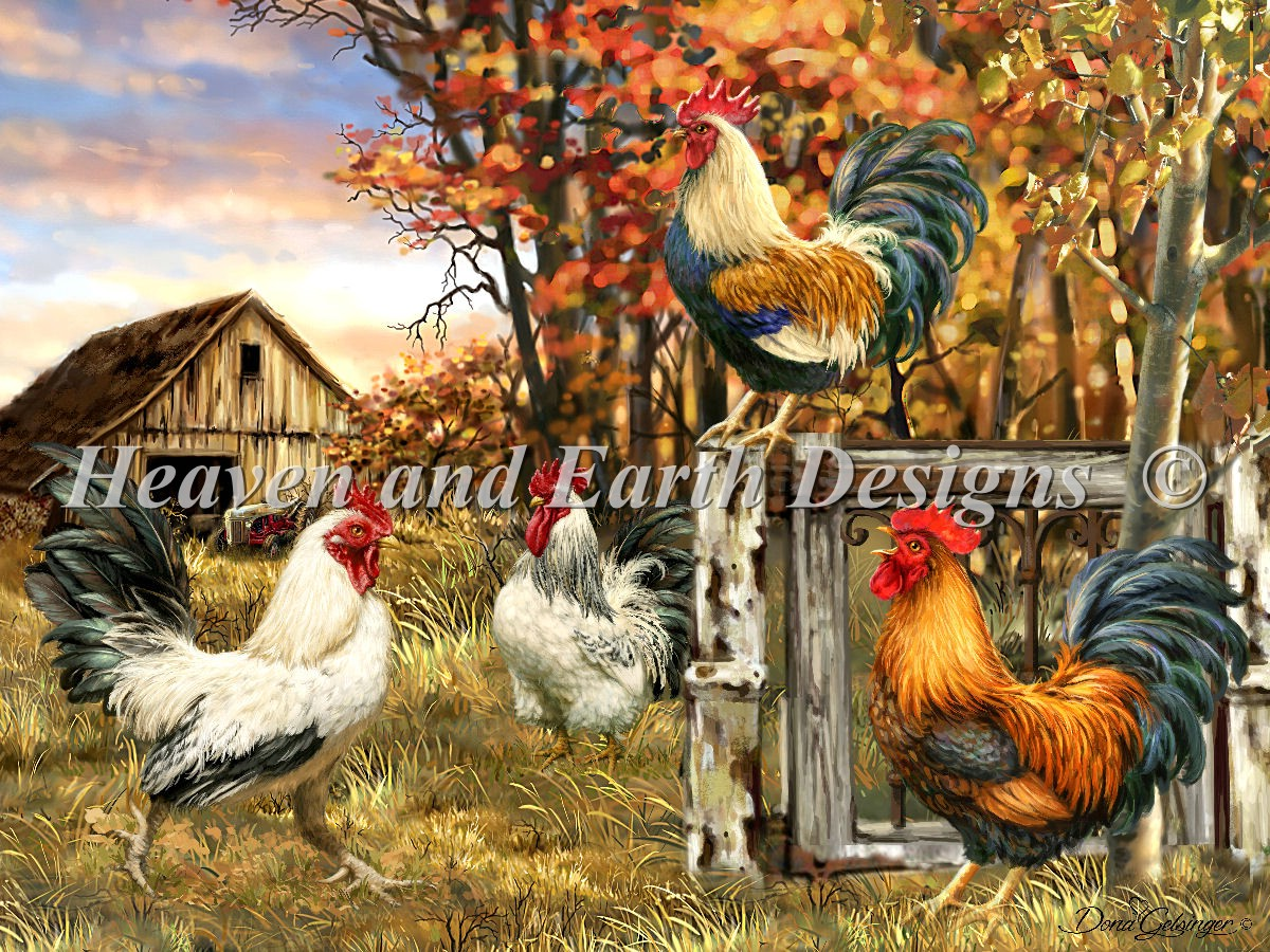 Rooster Farm Material Pack
