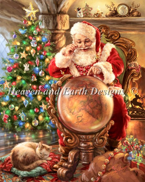 Santas Joy Around the World