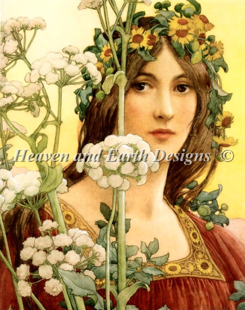 Our Lady of Cow Parsley