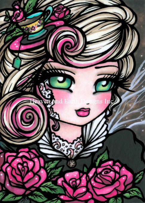 Tea Rose Fairy