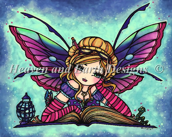 Bookworm Fairy - Click Image to Close
