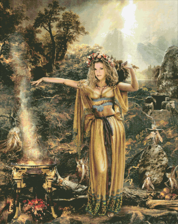 Fairy Queen Medb of the Sidhe