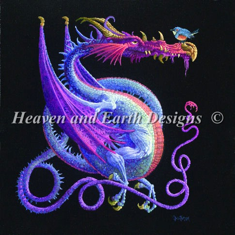 Purple Dragon NO Background