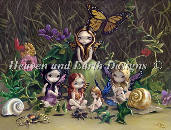 A Gathering of Fairies - Click Image to Close