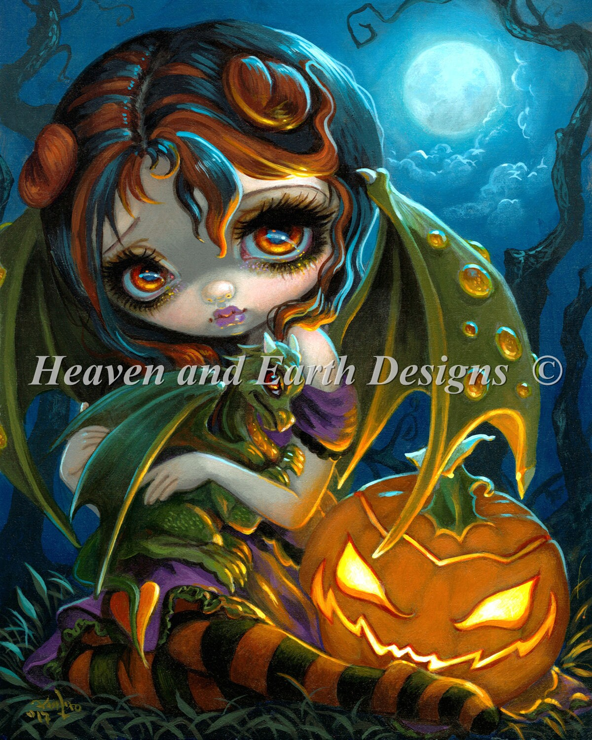 Halloween Dragonling Max Color