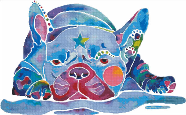 Whimsical French Bulldog