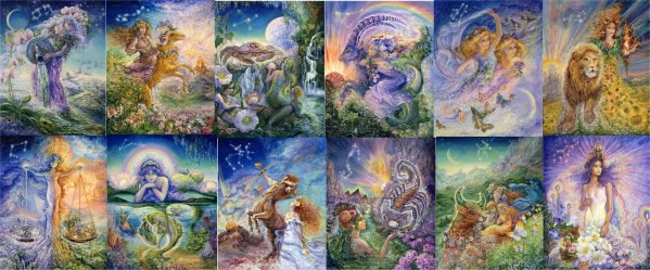 Josephine Wall Zodiac Full Collector Series - Click Image to Close