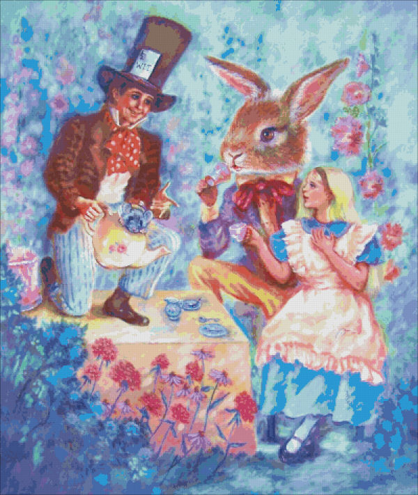 The Mad Hatter's Tea Party