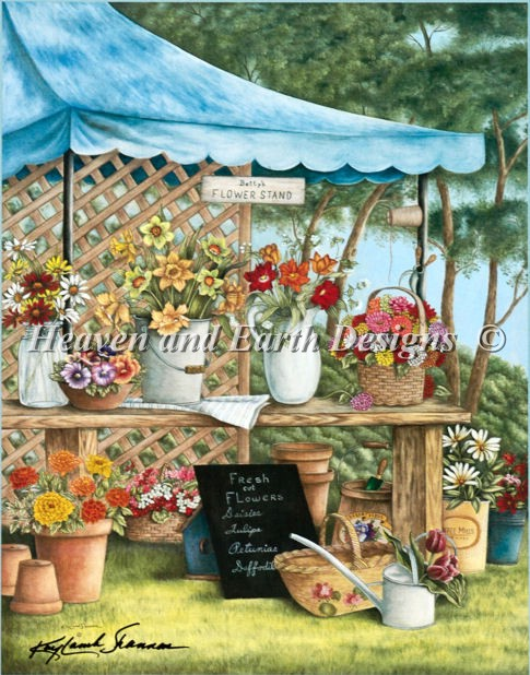 Bettys Flower Stand