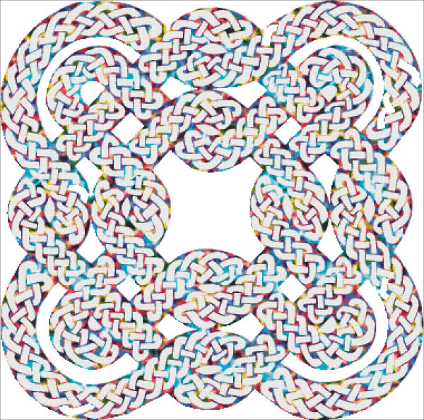 Celtic Tie Dye Knotwork