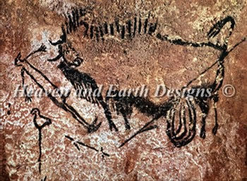 QS Buffalo - Ancient Stone Wall Painting