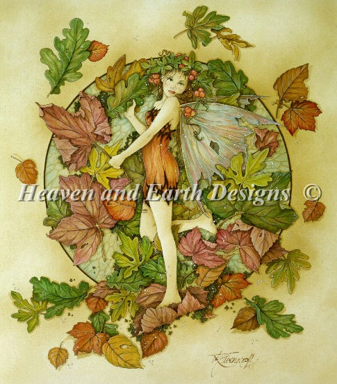 Autumn Leaf Fairy