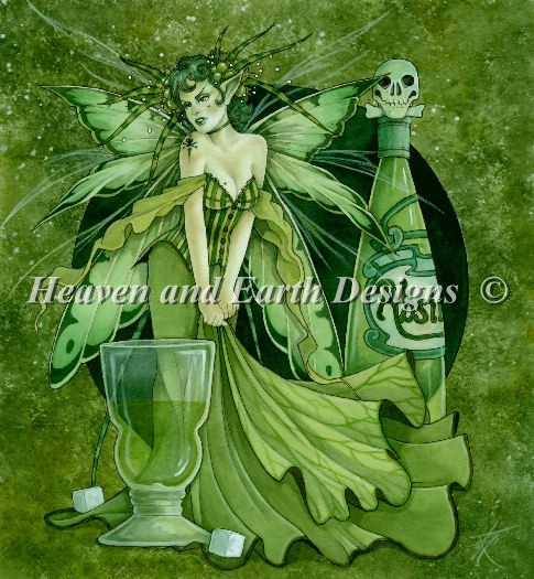 Absinth Fairy - Click Image to Close