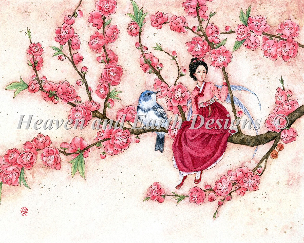 Peach Blossom Material Pack