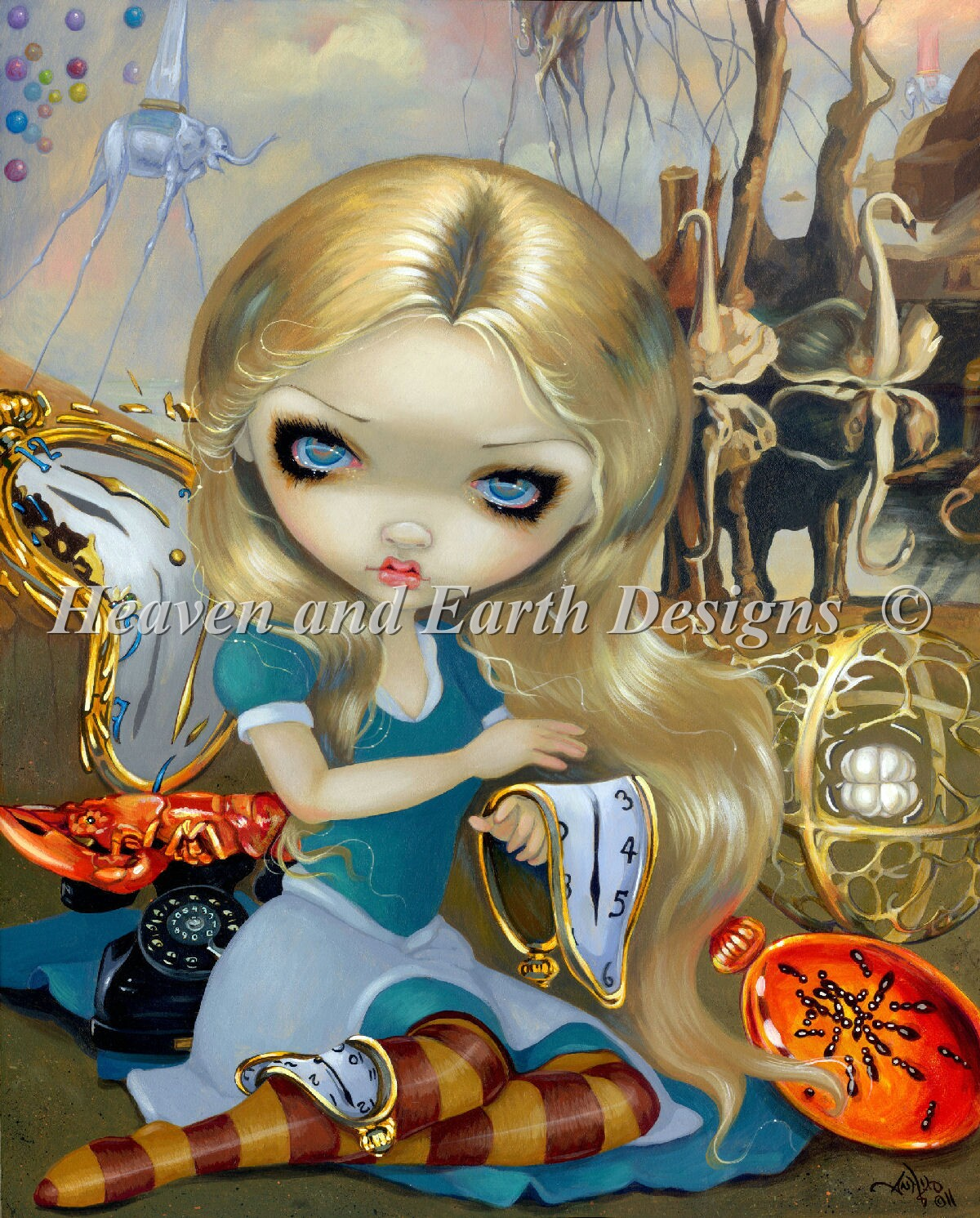 Mini Alice In A Dali Dream