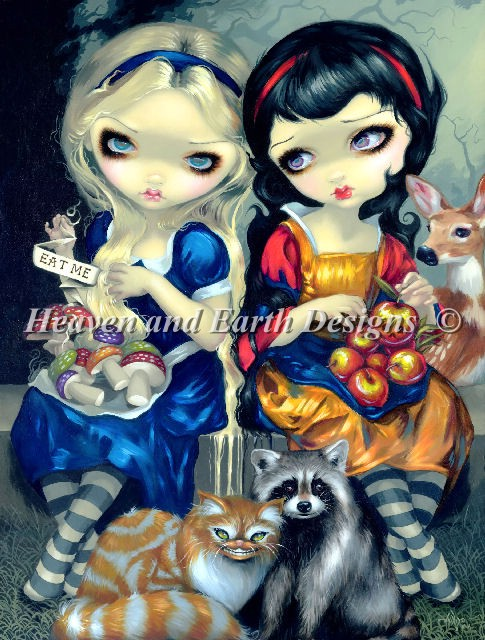 Mini Alice and Snow White