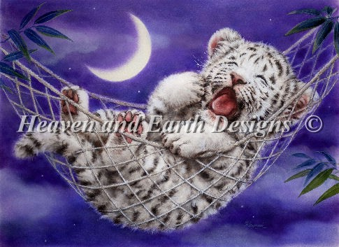 Mini Hammock White Tiger