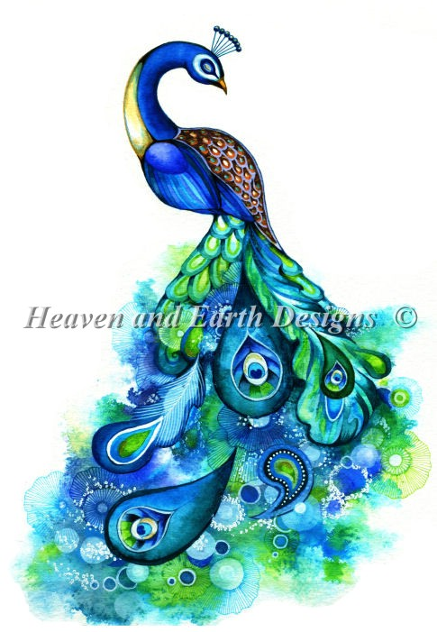 Mini Peacock Fantasy