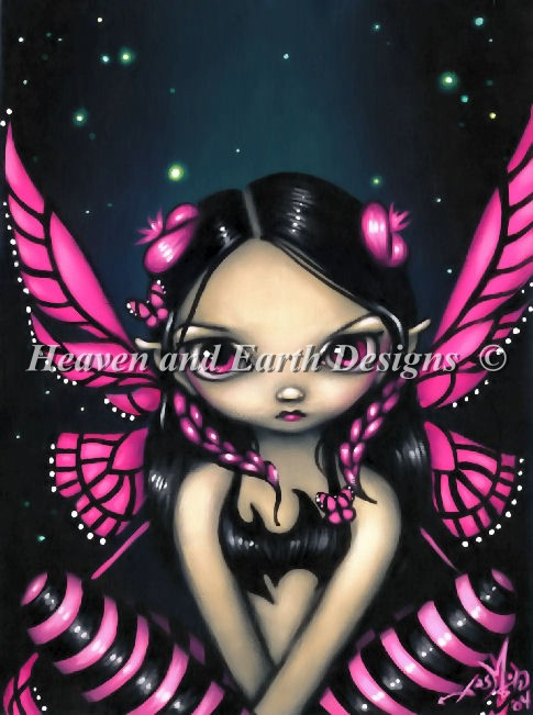 Mini Pink Butterfly Fairy