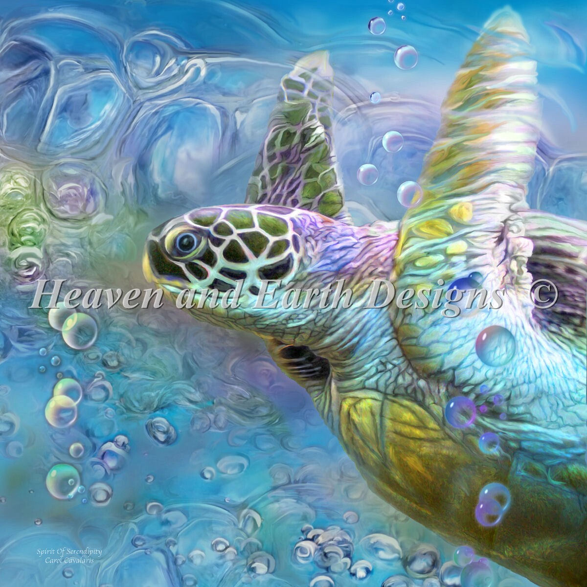 Mini Sea Turtle Spirit Of Serendipity
