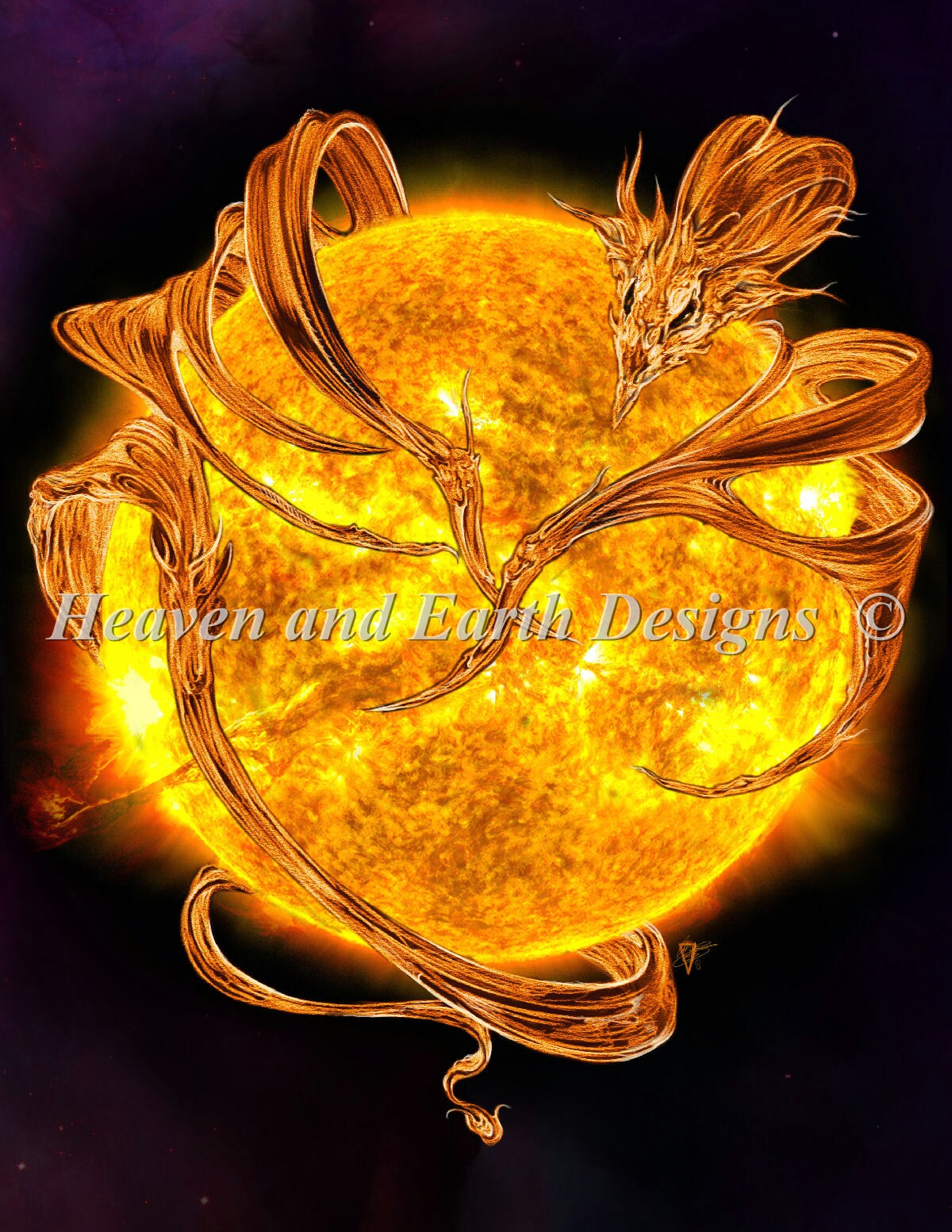 Mini Sun Dragon