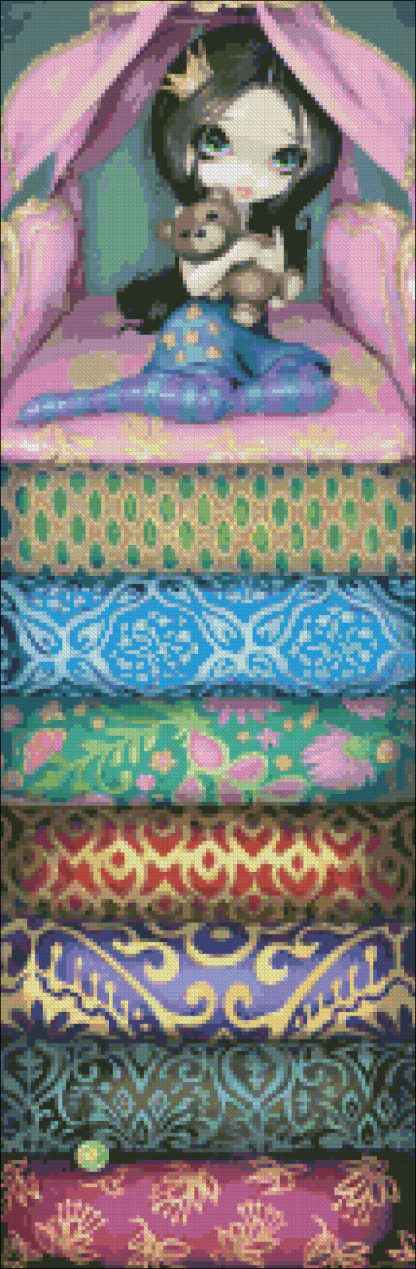 Mini The Princess And The Pea Material Pack