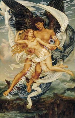 Boreas and Orietyia - Evelyn de Morgan