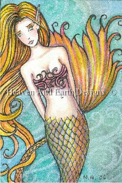 QS Mermaid in the Swirling Water