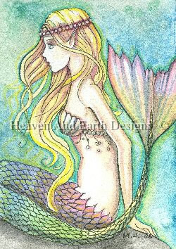 QS Rainbow Tail Mermaid