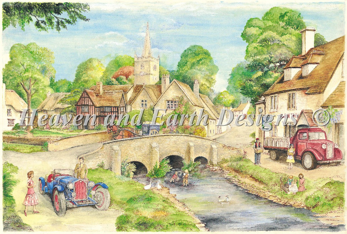 Old English Country Village