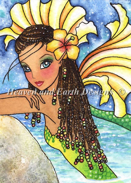QS Mermaid in Braids