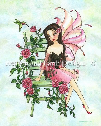 Fairy In My Rose Garden