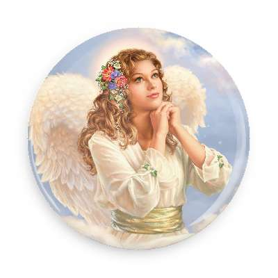 Needle Minder - Angel of Grace - Click Image to Close