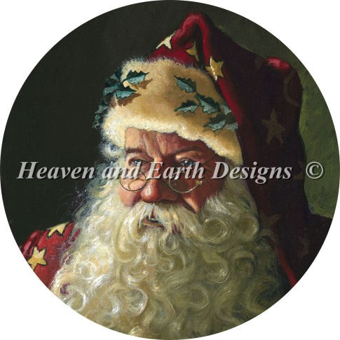 Ornament Portrait of Father Christmas
