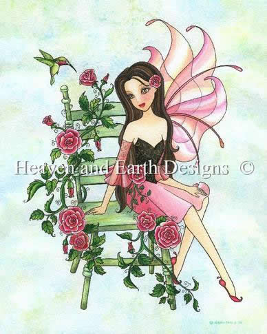 PTP Fairy In My Rose Garden