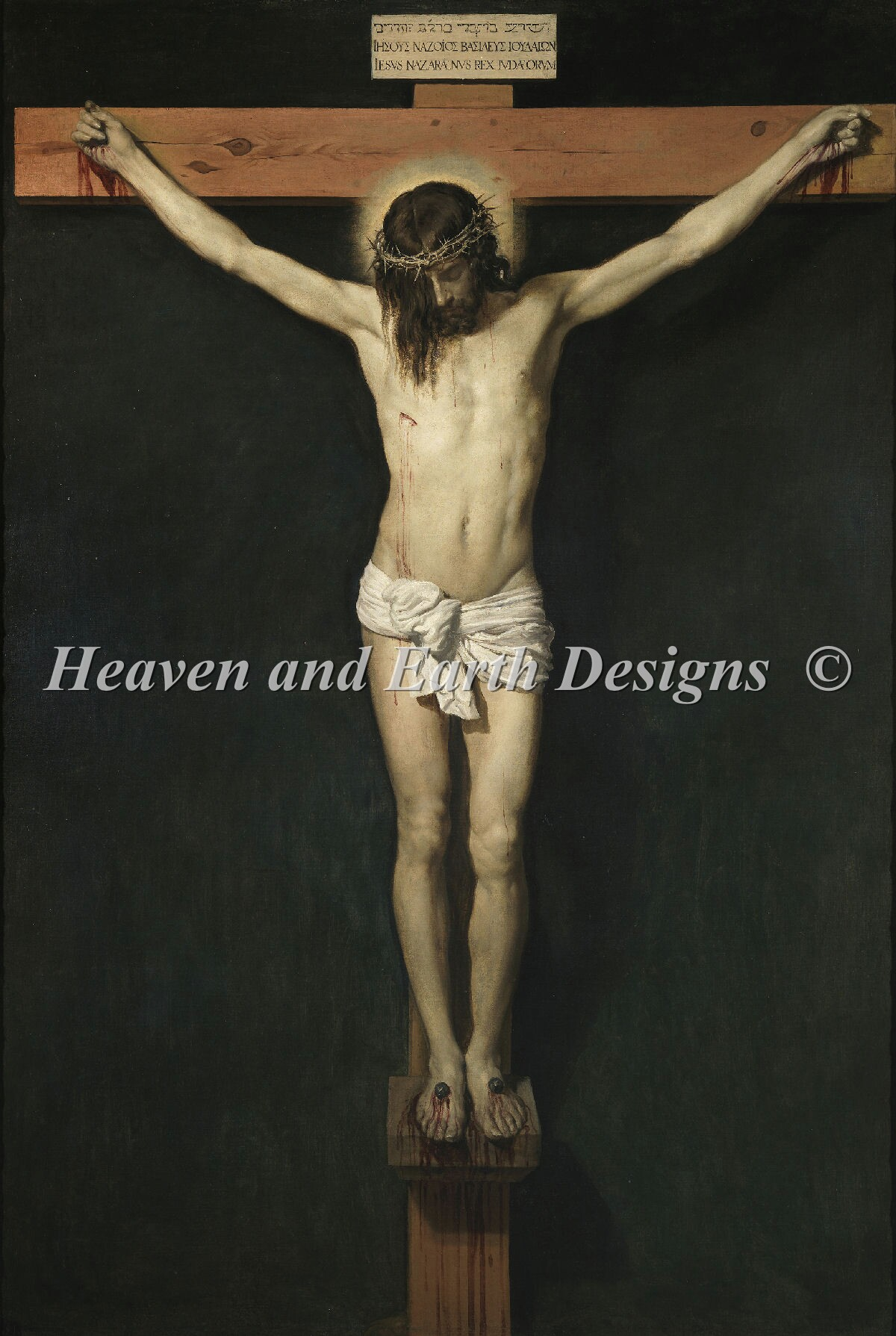 Christ Crucified Material Pack